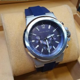 Michael Kors Chronograph Dylan Navy Silicone Strap Watch 48mm MK8295 For Men Price In Pakistan
