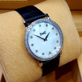 Piaget White Dial Sapphire Crystal Glass Watch Price Pakistan