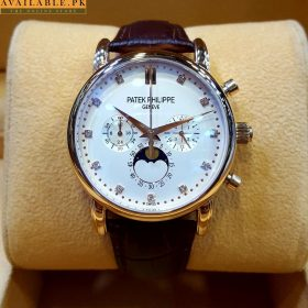 Patek Philippe Grand Complication White Dial Chronograph Watch Price In Pakistan