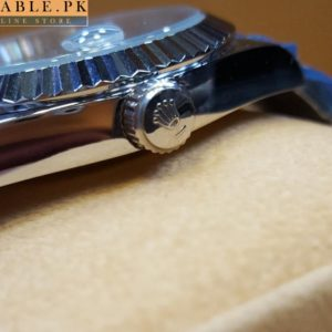 Rolex Day-Date Automatic Watch Digitless Silver Dial 530