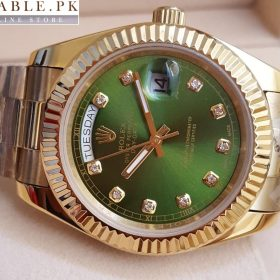 Rolex Green Dial Oyster Perpetual Day Date Watch Price In Pakistan
