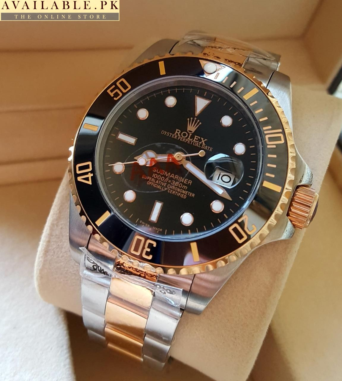 Rolex Submariner Gmt Master 2 Black Dial Watch Available Pk
