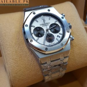 Audemars Piguet Royal Oak Black Dial Automatic Men's Chronograph Watch Price In Pakistan