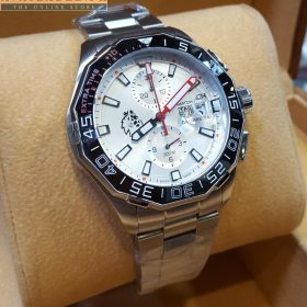 Tag Heuer Carrera Calibre 16 Chronograph Extra Time White Dial Watch Price In Pakistan