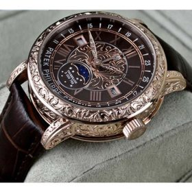 Patek Philippe Sky Moon Tourbillon Brown Dial Watch Price In Pakistan