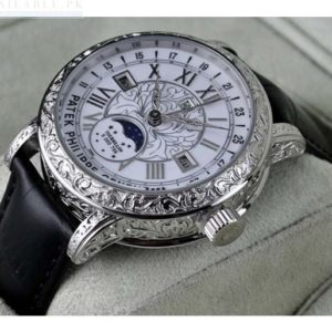 Patek Philippe Sky Moon Tourbillon White Dial Watch