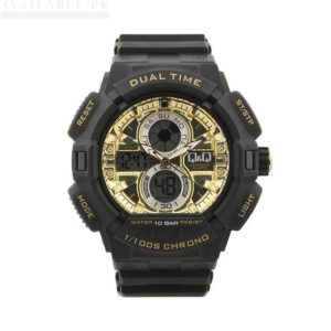 Q&Q GW81J003Y Black Analog Men's Watch Price In Pakistan