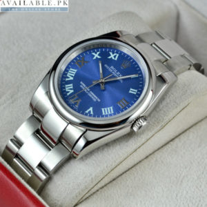 Rolex Oyster Blue Dial 2016 Men's Watch