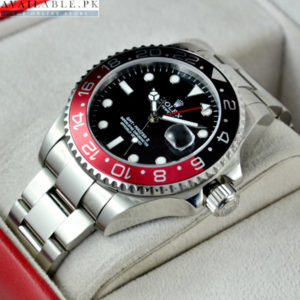 Rolex GMT Master II Red And Black COKE EDITION Men's Watch