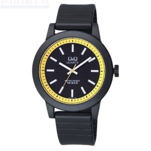 Q&Q Black Resin Analog Men's Watch VR10J001Y Price In Pakistan