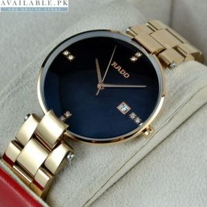 Rado Coupole Rosegold Watch For Men