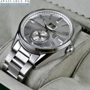 TAGHEUER CARRERA CALIBRE 8 DUAL TIME AUTOMATIC AAA