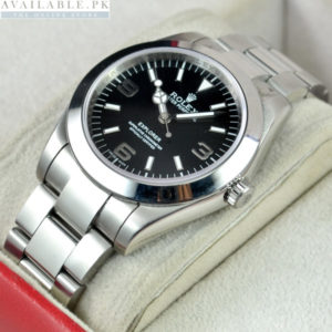 Rolex Explorer Black Dial For Men's Watch