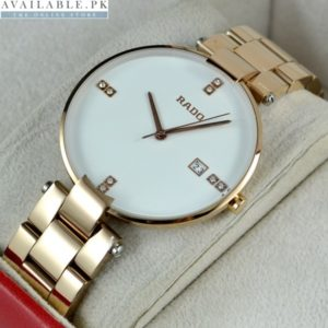 Rado Coupole Rosegold For Men Price In Pakistan
