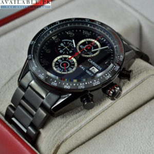 TAGHEUER CARRERA CALIBRE 1887 DATE CERAMIC BLACK