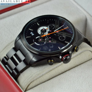 TAGHEUER V4 CHRONOGRAPH BLACK Watch For Men