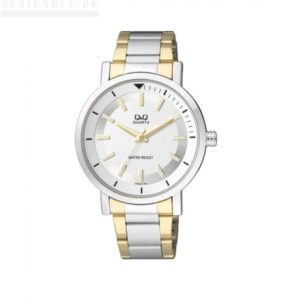Q&Q Gold & Silver Steel Analog Watch Q892J401Y Price In Pakistan