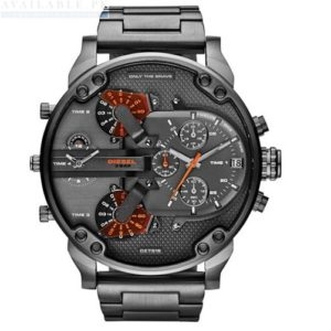 Diesel DZ7315 Mr Daddy 2.0 Gunmetal Mens Watch