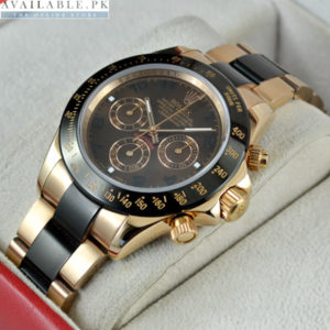 Rolex Daytona Cosmograph Copper Black Men's Watch