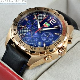 Tagheuer Formula 1 Blue Dial Watch For Men