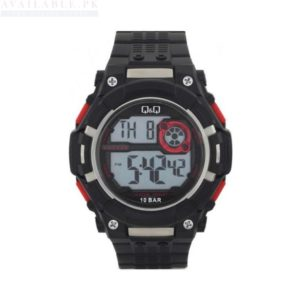 Q&Q M125J002Y Digital Sports Men's Watch Black Price In Pakistan