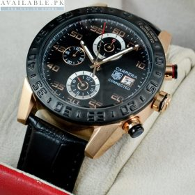 Tagheuer CONNECTED Chronograph Leather