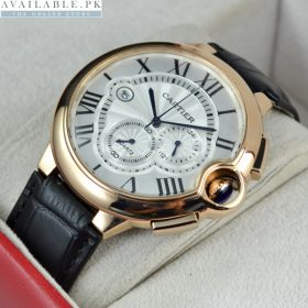 CARTIER BALLON BLUE CHRONOGRAPH Watch