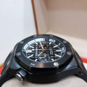 Audemars Piguet 300M Black Chronograph Men's Watch Price In Pakistan