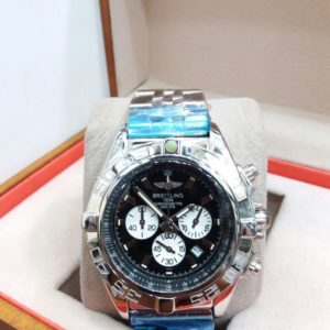 Breitling 1834 Chronometer GMT Black Dial Automatic Watch