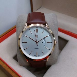 DL Watch Date Display Rose Gold Men's Watch