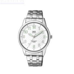 Q&Q Silver Steel Analog Watch Q912J204Y Price In Pakistan