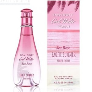 DAVIDOFF Cool Water Sea Rose Exotic Summer for Women - 100 ml