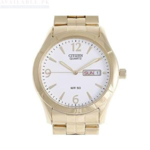 Citizen Stainless Steel Men's Watch BK3832-63A - Gold