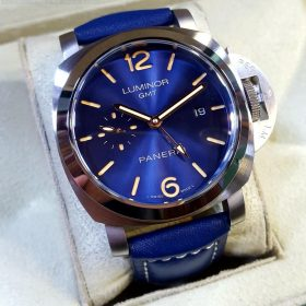 Panerai Blue Dial & Belt Automatic GMT Men's Watch Price In Pakistan