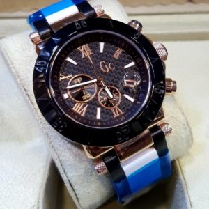 GUESS Gc Japanese Chronograph Matt Black Men's Watch