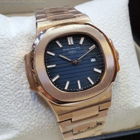 Patek Philippe Nautilus Watches Blue Dial Women's Watch Price In Pakistan