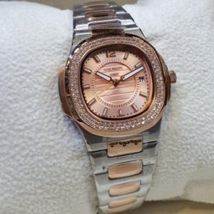 Patek Philippe 2 Tone Nautilus Watches Copper Dial Watch Price In Pakistan
