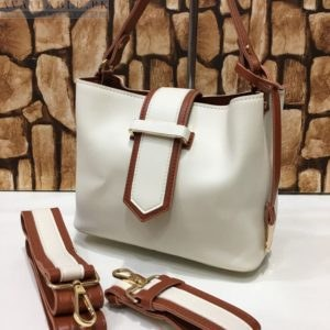 Customized White Women's handbag