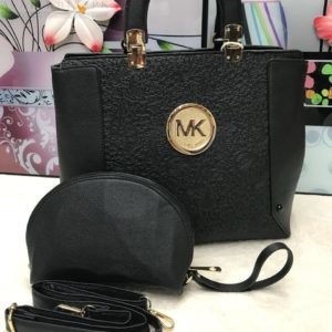 MK Michael Kors Black 2 in 1 Women's Handbag Price In Pakistan