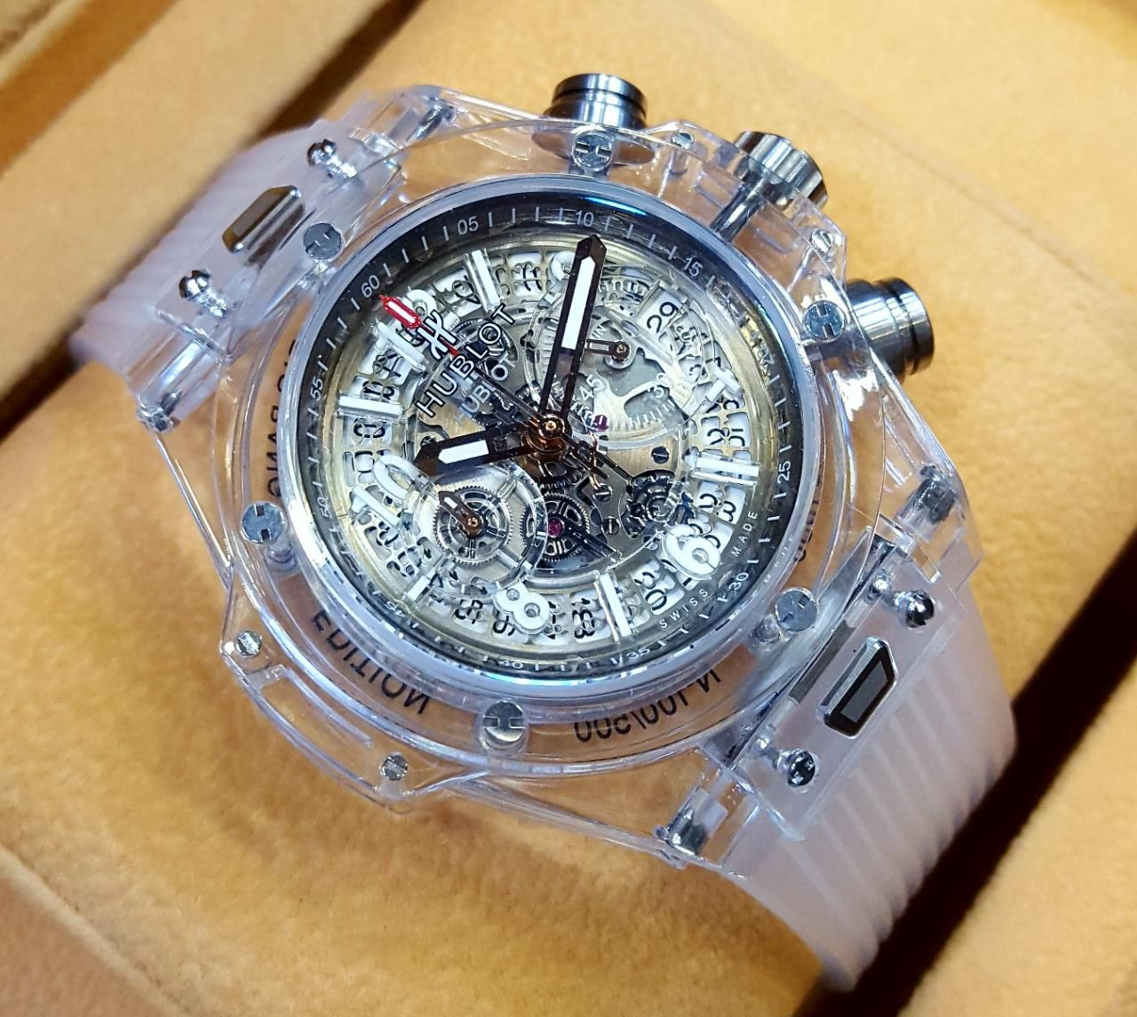 Hublot Watch Price >> Hublot Automatic Transparent Body Men S Watch Price Available Pk