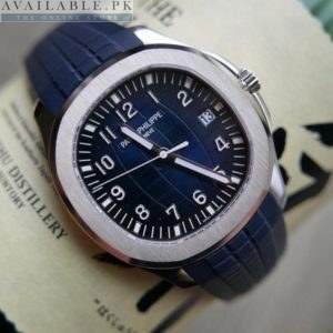 Patek Philippe Automatic Swiss Machine Rubber Strap MASTER Lock Price In Pakistan