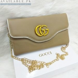 Gucci Clay Dual Style Cross Body Bags+Hand Clutch Price In Pakistan