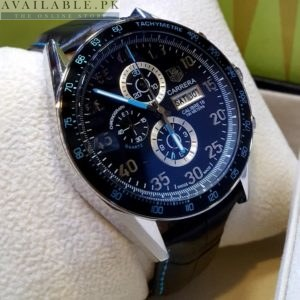 Tag Heuer Calibre 16 Black & Blue Sporty Edition His Watch Price In Pakistan