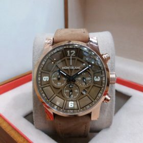 Montblanc Chronograph Brown Dial Date Display Men's Watch Price In Pakistan