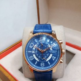 Montblanc Flyback Downs Second And Date Display Men's Watch