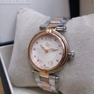 GC Guess Women's White Dial Roman Figure Watch Price In Pakistan