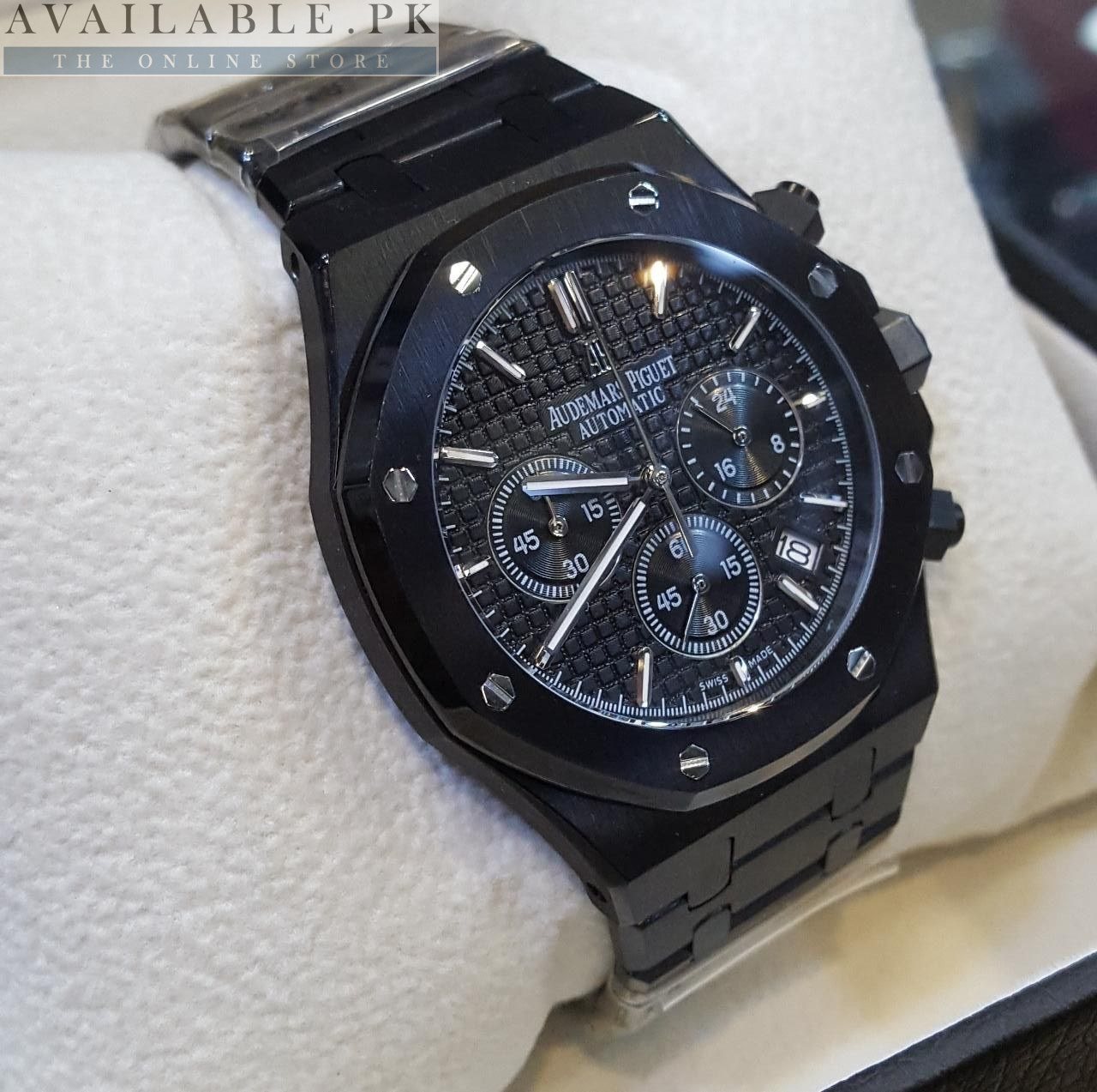 49101060bbbb Audemars Piguet Royal Oak Automatic Black Men s Watch Price In Pakistan