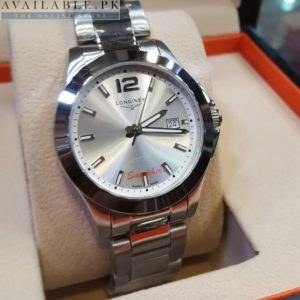 Longines Silver Dial Sapphire Glass His Watch Price In Pakistan