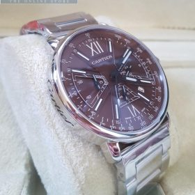 Cartier Chronograph Aviation Brown Dial Men's Watch Price In Pakistan