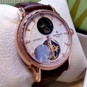 Patek Philippe Automatic Double Zone With Master Watch Price In Pakistan